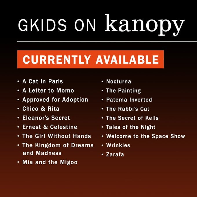GKIDS 18 films