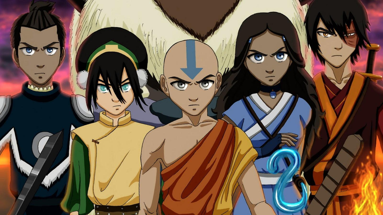 Last Airbender Animated Film