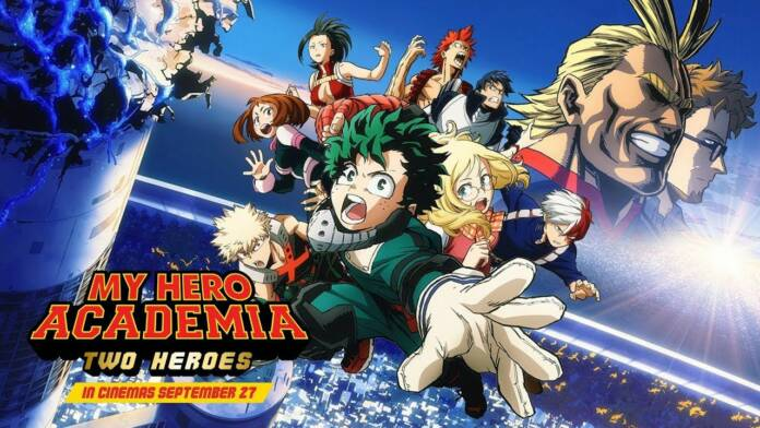 My Hero Academia Two Heroes Release