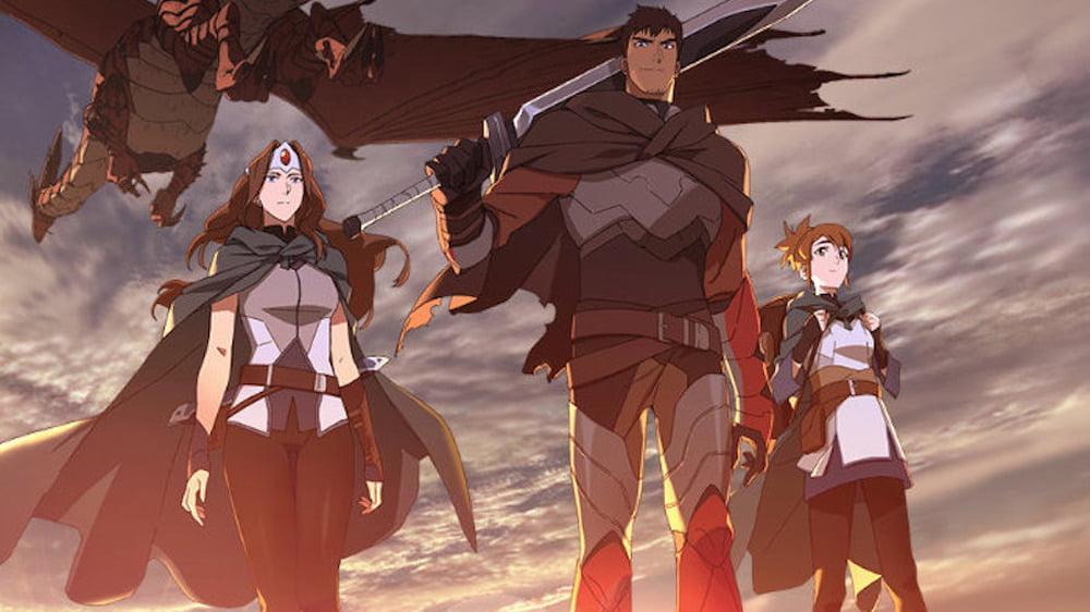 Netflix's DOTA: Dragon's Blood Cast