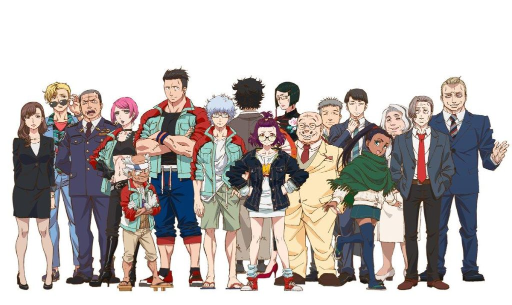 characters-from-Godzilla:-Singular-Point(