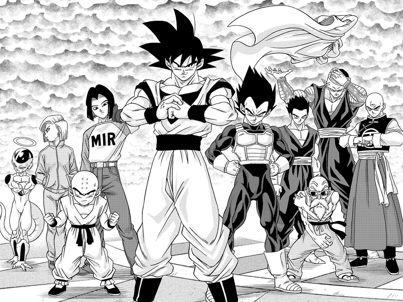 Dragon Ball Super team image