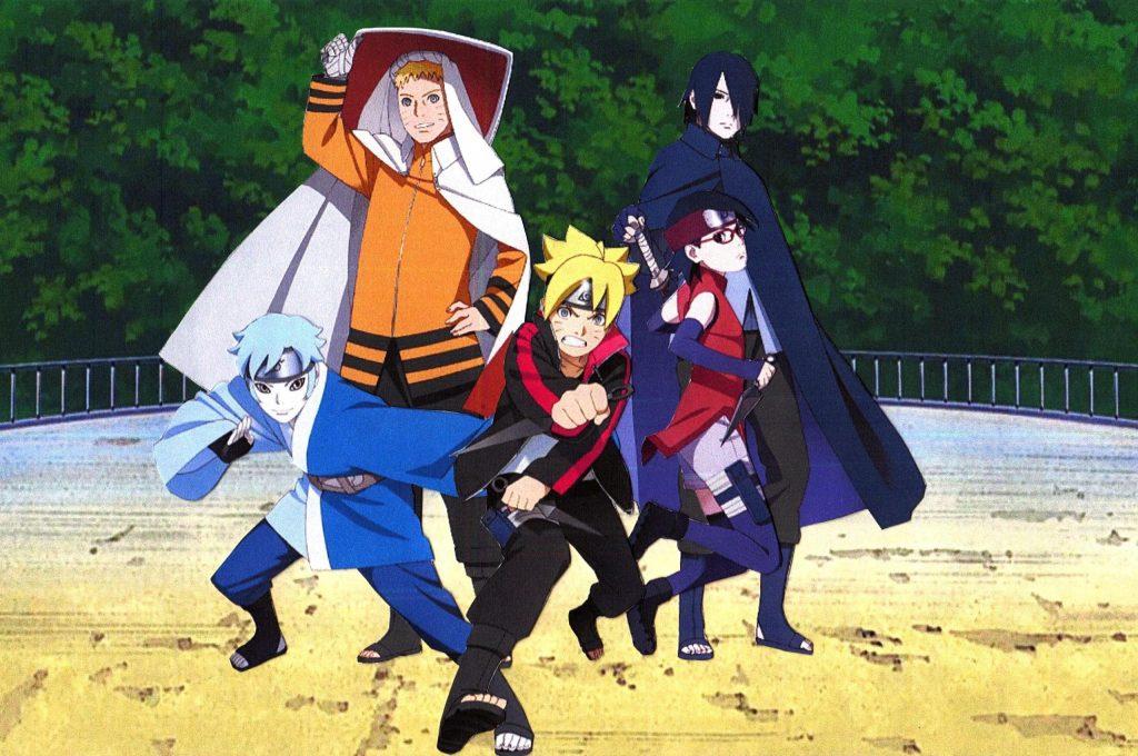 anime like naruto shippuden and Bleach, Boruto