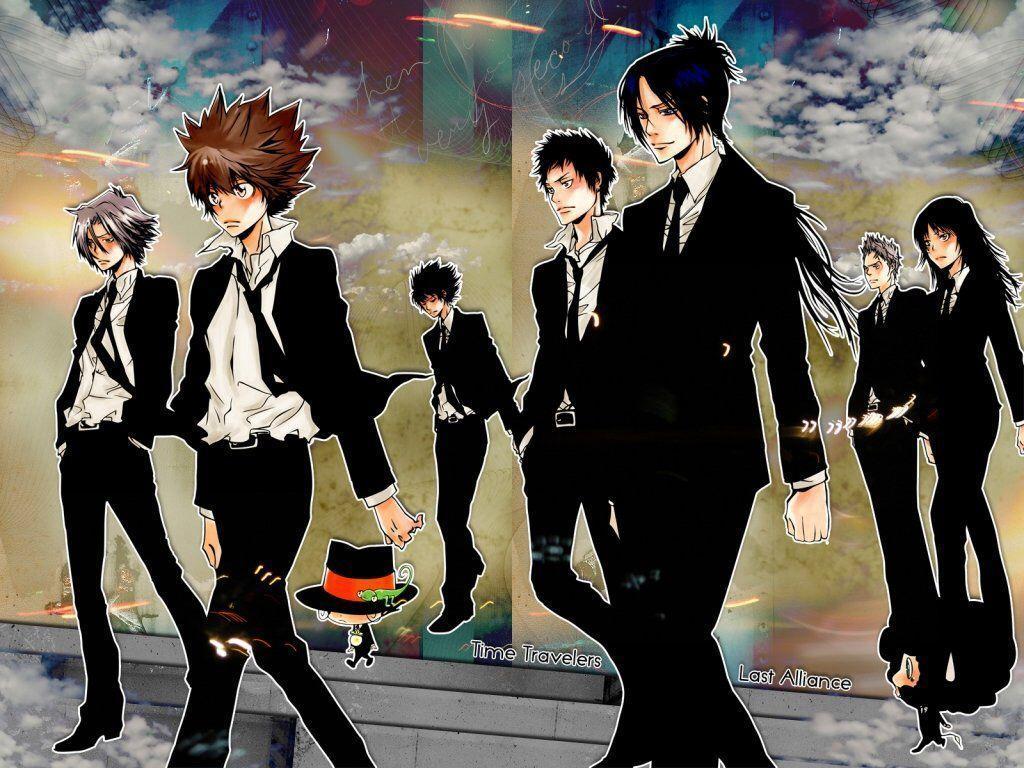 anime like naruto shippuden, Katekyo Hitman Reborn