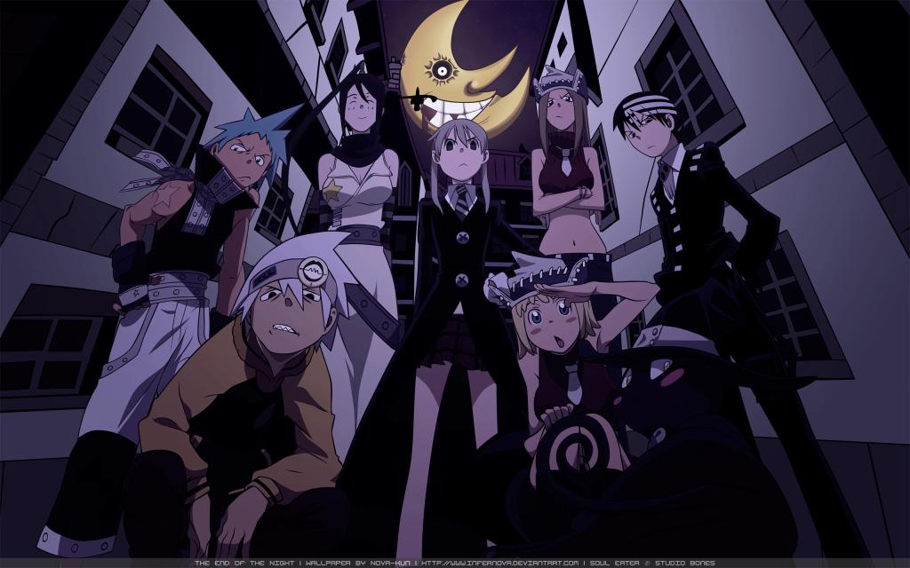 animes like Naruto Soul Eater