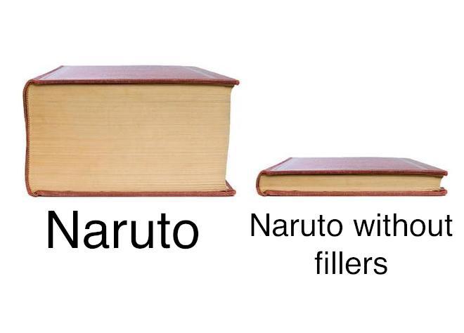 naruto shippuden filler episodes meme