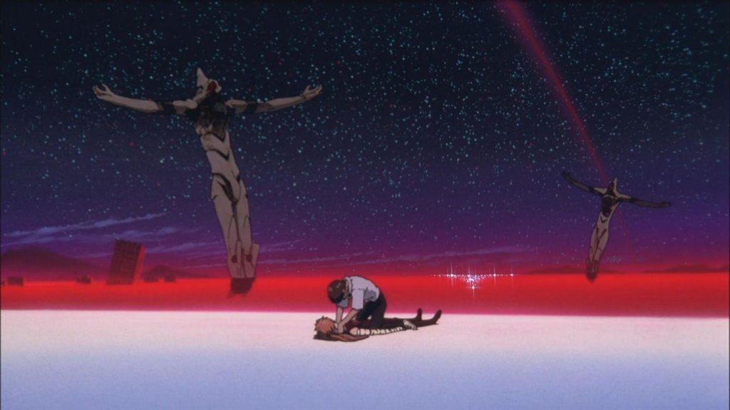 neon genesis evangelion ending