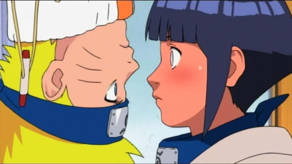 Dandere Types of anime girls, Hinata Hyuga from Naruto