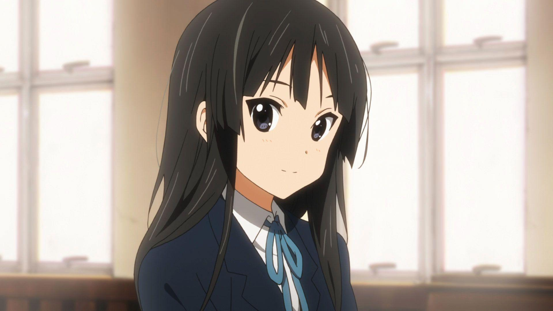 Quiet girl from K-ON! Mio Akiyama