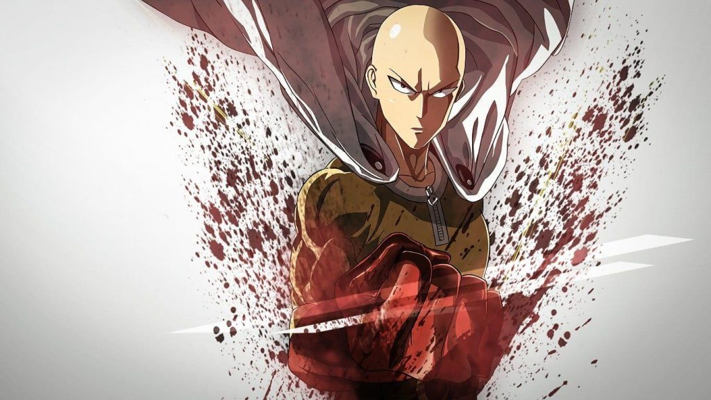 Most Overpowered anime protagonist Saitama from One punch man