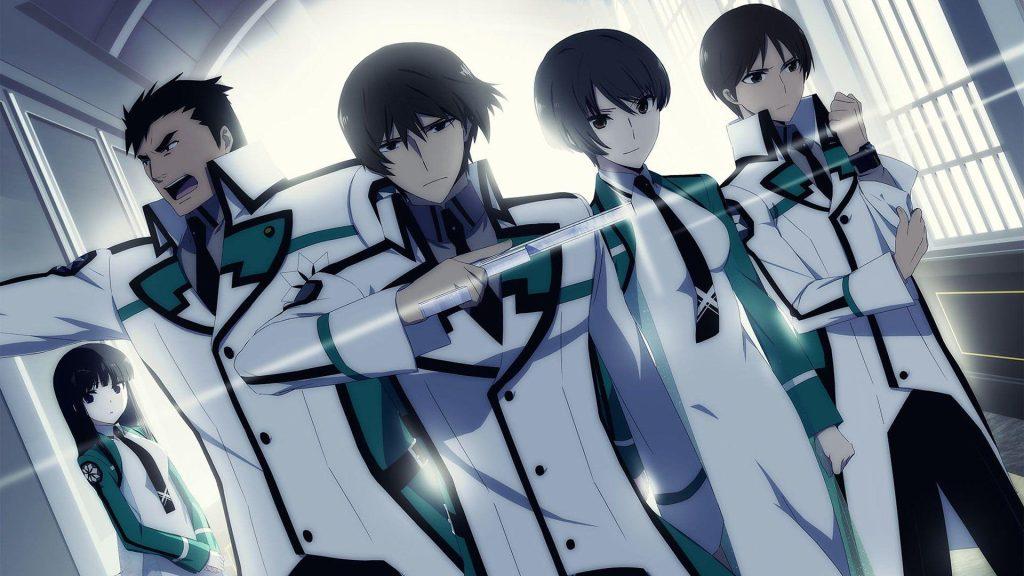 The Irregular at Magic High School anime where the main character Tatsuya Shiba is op